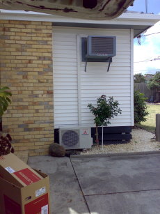 Quality Split System Air Conditioner Installation Pictures